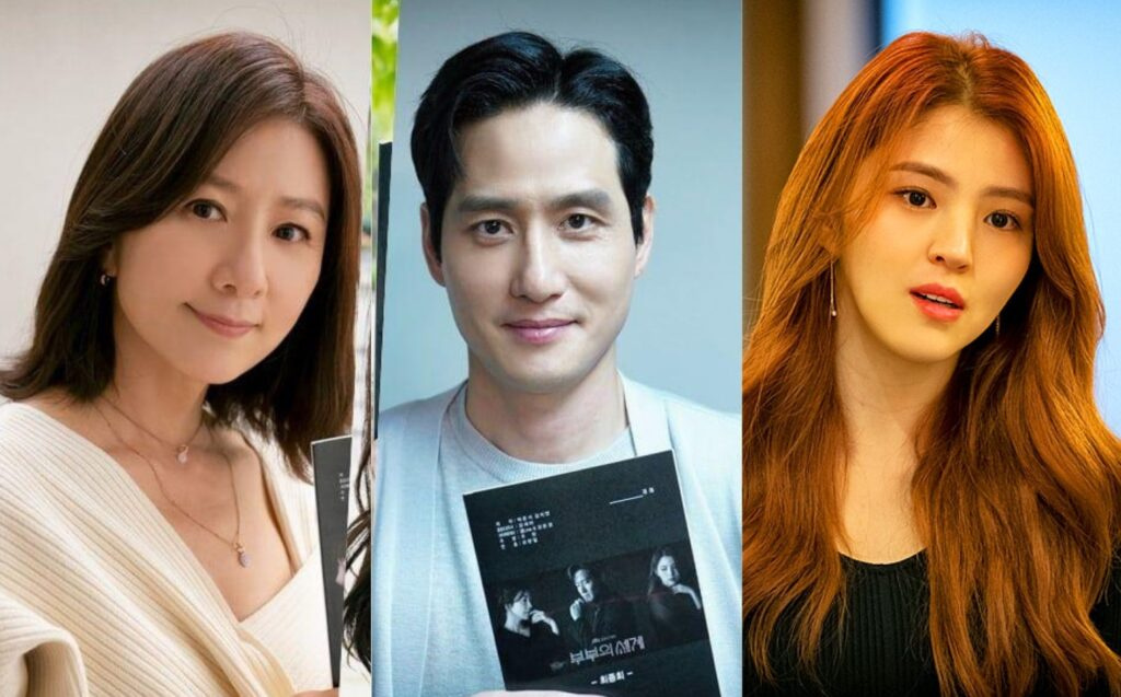The world of the married Kdrama Cast